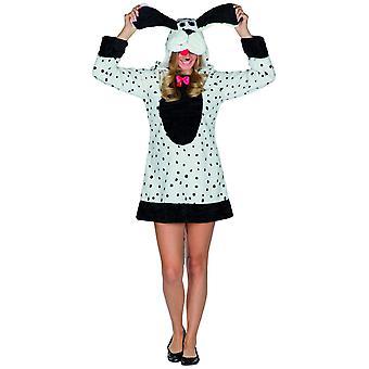 Dalmatian Lady Hyvät koira puku eläinten puku Dalmatian Dog Carnival