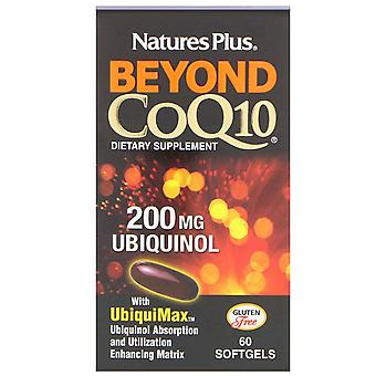 Nature-apos;s Plus, Beyond CoQ10, Ubiquinol, 200 mg, 60 Softgels