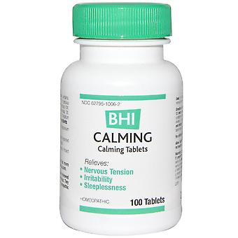 MediNatura, BHI, Calming, 100 Tablets