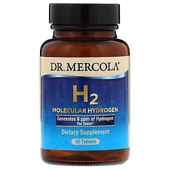 Dr. Mercola, H2 Molecular Hydrogen, 30 Tablets