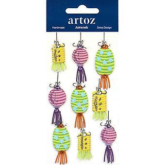 Chinese Lanterns Craft Embellishment By Artoz