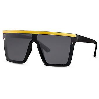 نظارات شمسية Unisex القط مستطيلة. 3 أصفر / أسود