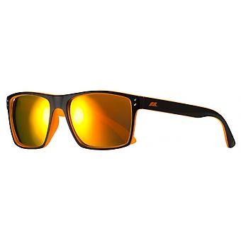 Sonnenbrille Junior    Zestmatt schwarz/orange