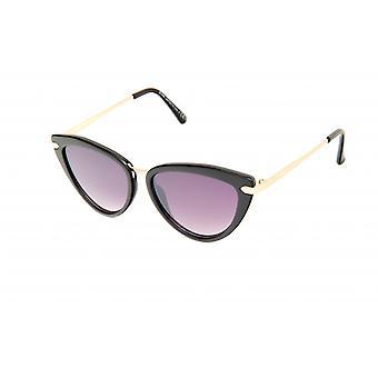 Gafas de sol Mariposa de Mujer Negro/Oro/Violeta (20-049)