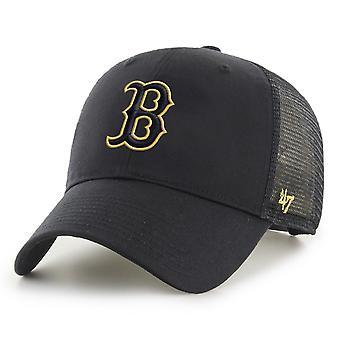47 Brand Trucker Cap - BRANSON Metallic Boston Red Sox