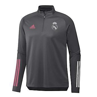 2020-2021 Real Madrid Adidas Training Top (Cinza) - Crianças
