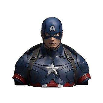 Marvel Kapitan Ameryka Deluxe Bust Money Box