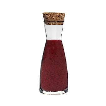 Bormioli Rocco Ypsilon Water Carafe Decanter Jug with Cork Lid - 1080ml