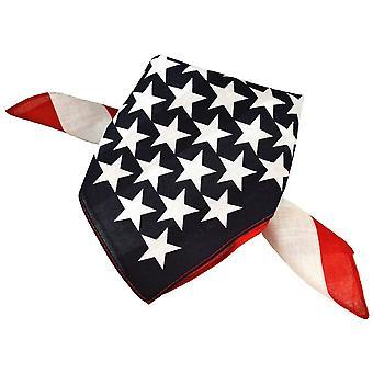 Laços Planeta Usa Bandeira Bandana Neckerchief