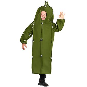 Mens Cactus Funny Novelty Fancy Dress Costume