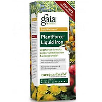 Gaia Yrtit Plantforce Nestemäinen Rauta, 8,5 oz