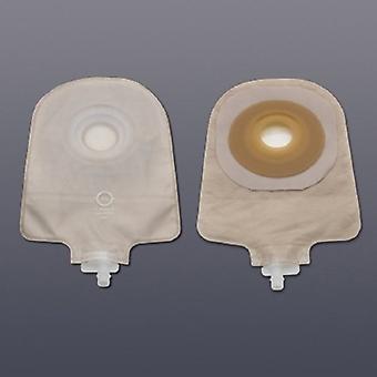 Hollister Urostomy Pouch Premier One-Piece System 9 Polegada comprimento 3/4 polegadas Stoma Drenável, Transparente 5 Contagem