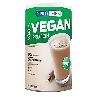 Biochem Vegan Protein Chocolate Powder, Chocolate, 16.2 Oz