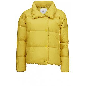 Masai Clothing Thelma Yellow Quilted Coat