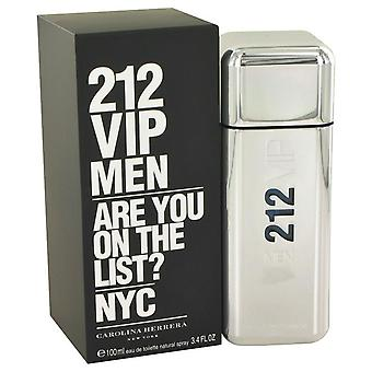 212 Vip Eau De Toilette Spray da Carolina Herrera 3.4 oz Eau De Toilette Spray