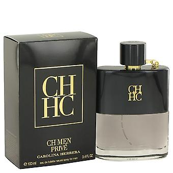 Prive di ch Eau De Toilette Spray da Carolina Herrera 3.4 oz Eau De Toilette Spray