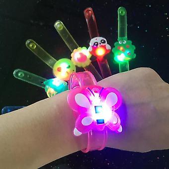 רצועת פרק כף יד צמיד תאורה LED