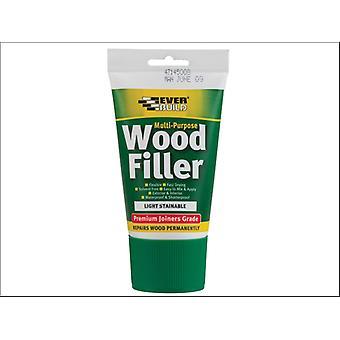 Everbuild Easi Squeeze Multipurpose Wood Filler Light 100ml
