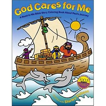 GOD CARES FOR ME Coloring Books A ReadToMe Bible Story Coloring Book about Paul's Journey