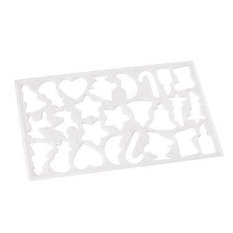 Eddingtons Xmas behandeln Rolle & Cutter rot sortiert 850101