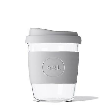 Cool Cyan Borosilikat Glas Tasse