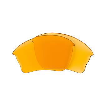 Replacement Lenses for Oakley Half Jacket XLJ Sunglasses Anti-Scratch Yellow