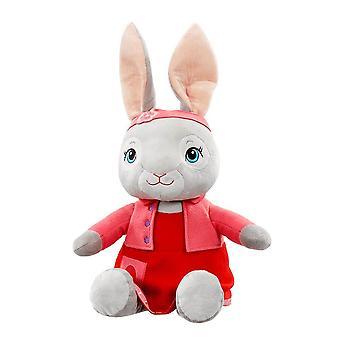 彼得兔子百合波尾电影巨人毛绒玩具