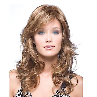 Wig Synthetic Hair Long Curled Hair Cap