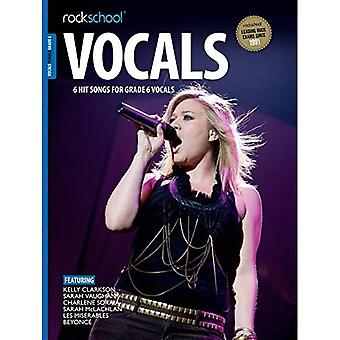 ROCKSCHL FEMALE VOCAL GR 6 BK/AUDIO