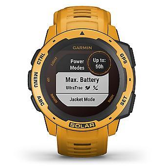 Garmin 010-02293-09 Instinct Smartwatch Solar Gps Sunburst Siliconen Bluetooth Horloge