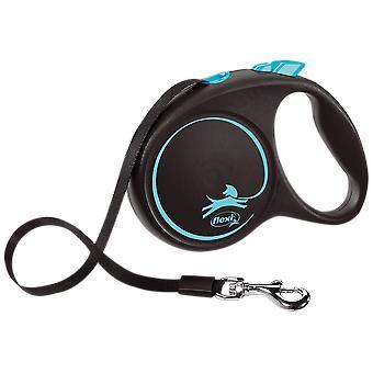 Flexi Correa Flexi Black Design L Cinta (Koirat, kaulukset, liidit ja valjaat, liidit)