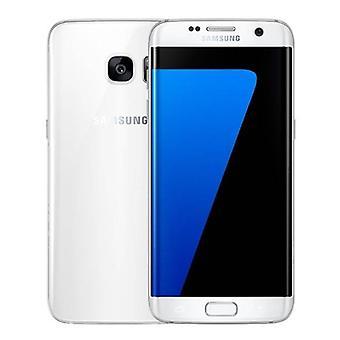 سامسونج سامسونج غالاكسي S7 حافة الهاتف الذكي مقفلة SIM مجانا - 32 GB - النعناع - أبيض - 3 سنوات الضمان