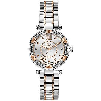 Gc watches ladydiver Watch Cable for Women Analog Quartz with Stainless Steel Bracelet Y41003L1