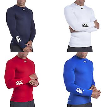 Canterbury Mens Cold Outdoors Sports Training Baselayer Compression Top
