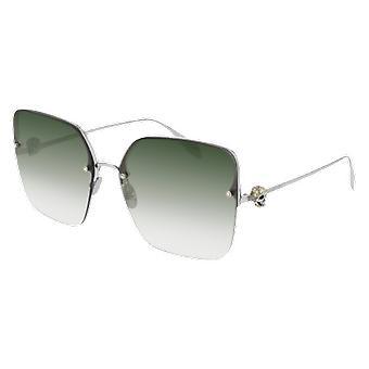 Alexander Mcqueen AM00271S 003 Zilver//Groene Gradiënt zonnebrillen