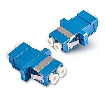 Duplex Single-mode Fiber Optic Adapter Lc Optical Coupler Upc Fiber Flange