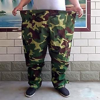 Pantaloni bărbațiăs de dimensiuni mari, bandă elastică plus dimensiune, elastic de vară