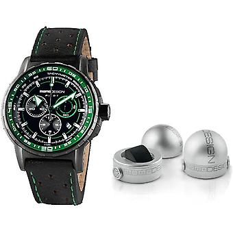 Momo design watch pilot pro chrono quarzo md2164bk-32