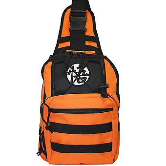 Dragon Ball Z Logo Mini Sling Backpack - Orange