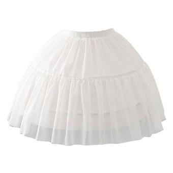 Cosplay Fish-bone Short Skirt, Lolita Carmen Slip Liner Cute Skirts, Regolabile