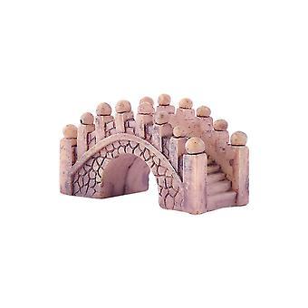 Durable Miniature Arch Bridge Doll House Home Decor Ornament