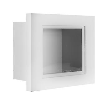 "3D Box Frame | M&W White 10"" x 8"""