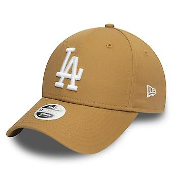New Era 9Forty Women's Cap - Los Angeles Dodgers wheat brown