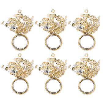 Dii Sparkle Napkin Ring (Set Of 6)