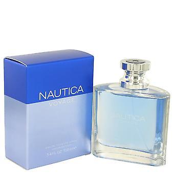 Nautica Voyage by Nautica Eau De Toilette Spray 3.4 oz / 100 ml (Men)