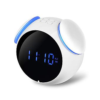 Hc-202 bluetooth speaker mirror wekker ondersteunen aux tf-kaart