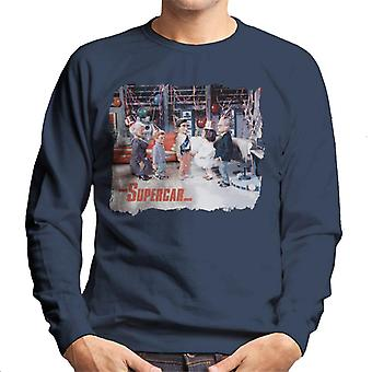 Supercar Birthday In Black Rock Men's Sweatshirt