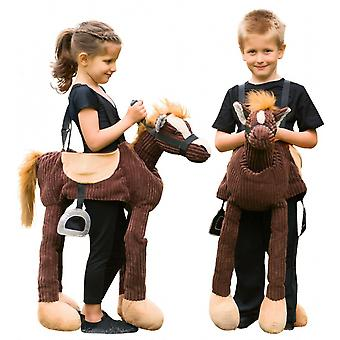 Children's Costume Ride On Pony Polyester Brown 3-8 Years