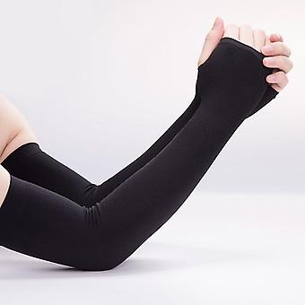 Ice Fabric Arm Sleeves Warmers Sun Uv Protection Sunscreens Bands