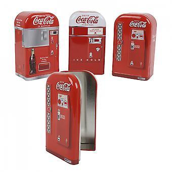 Coca-Cola White Hood Coin Bank